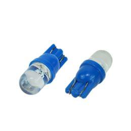 ŻARÓWKA LED 24V W2,1X9,5D 1-LED /2SZT/ NIEBIESKA